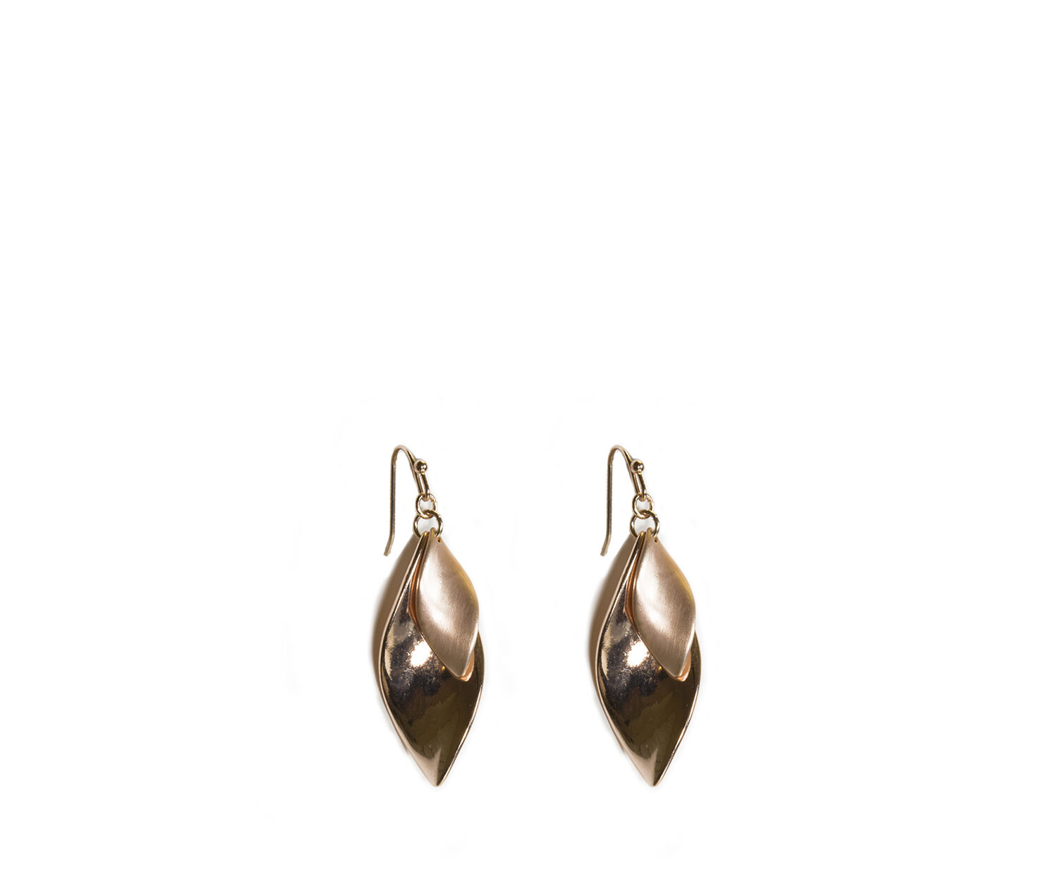 Oasis, SLEEK TWIST EARRINGS Rose Gold 1