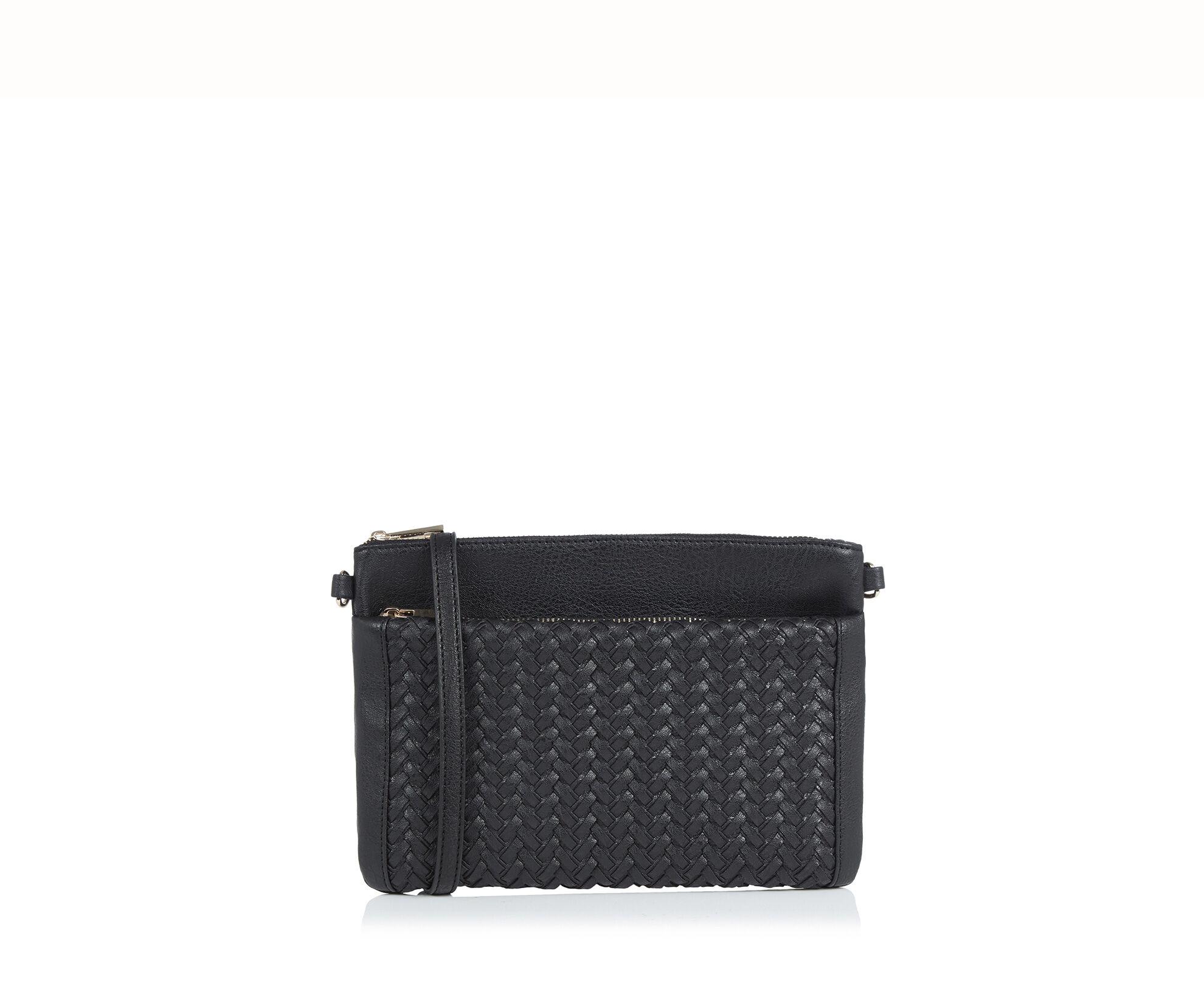 Oasis, Weave Cross-Body Bag Black 0