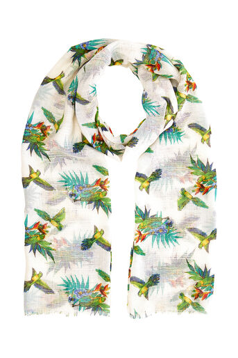 Oasis, PALM BIRD SCARF Multi 0
