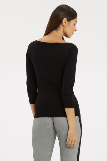 Oasis, The Textured Knit Black 3