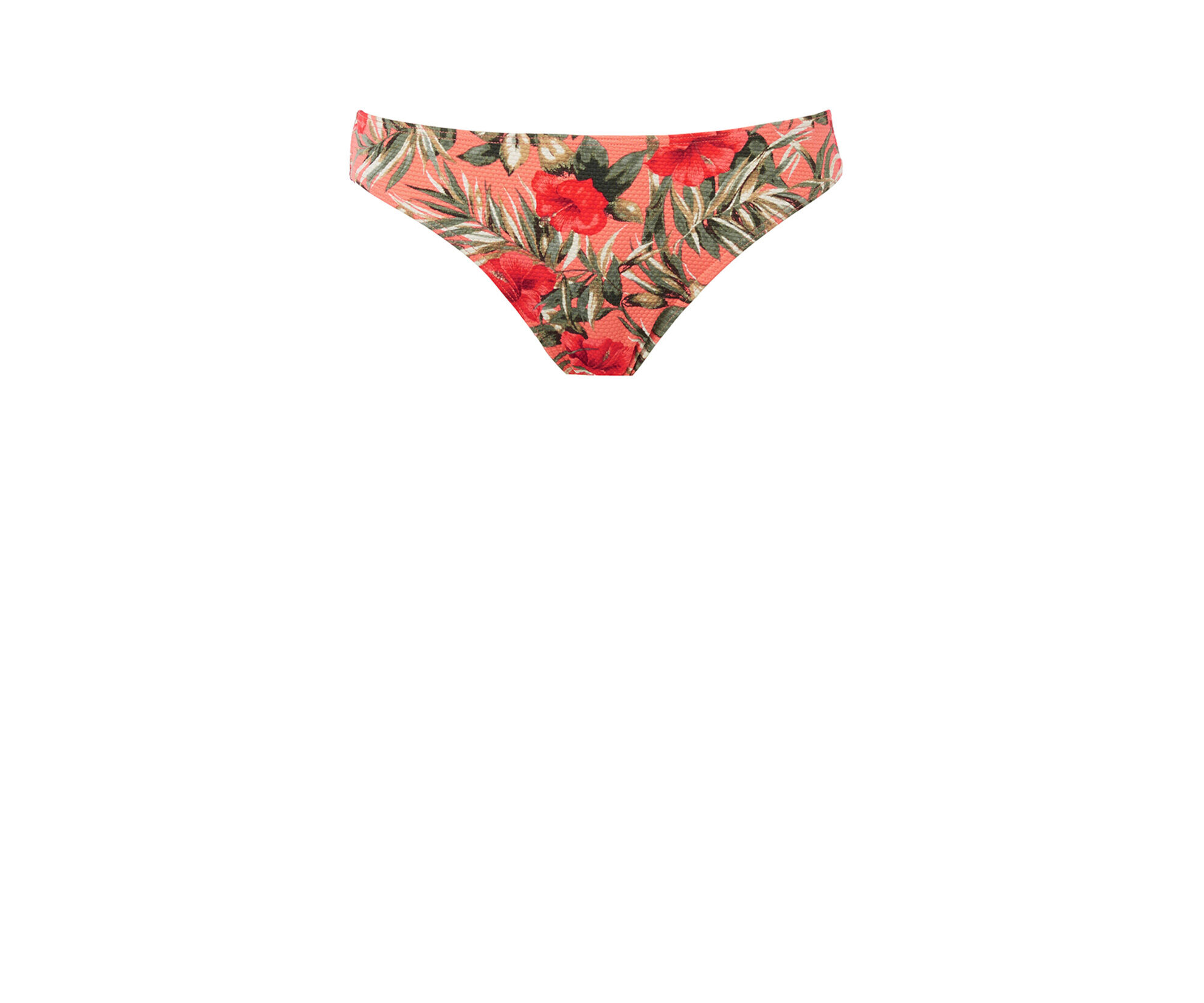 Oasis, Palmhouse Textured Pant Multi Orange 0