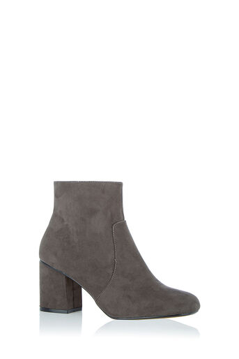 Oasis, KITTY ANKLE BOOT Mid Grey 0