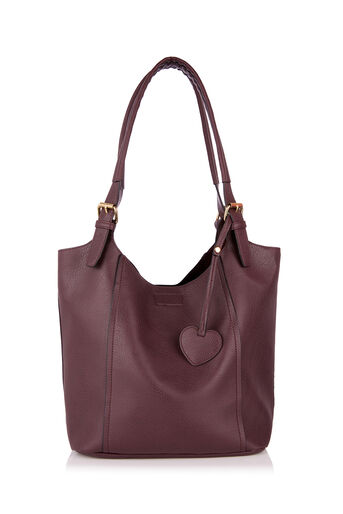 Oasis, FRAN TOTE BAG Berry 0