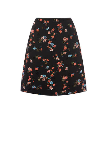 Oasis, ROSSETTI FLORAL MINI SKIRT Multi 0