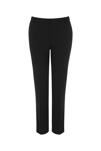 Oasis, CREPE BASIC TROUSER Black 0