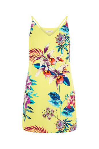 Oasis, Tropical Cami Dress Multi Yellow 0