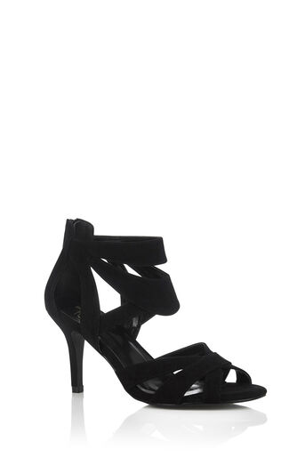 Oasis, HATTIE STRAPPY SANDAL Black 0