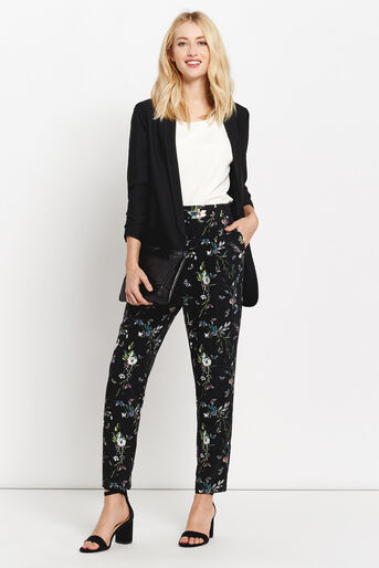 Oasis, FOREST PRINT TROUSER Multi 2