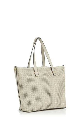 Oasis, Cut Out Shopper Mid Grey 2