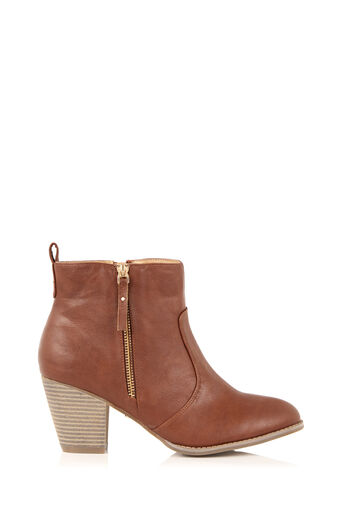 Oasis, ABIGAIL ANKLE BOOT Tan 0