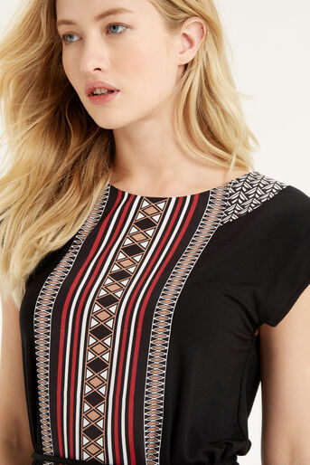 Oasis, Deco Patterned Tunic Multi 4