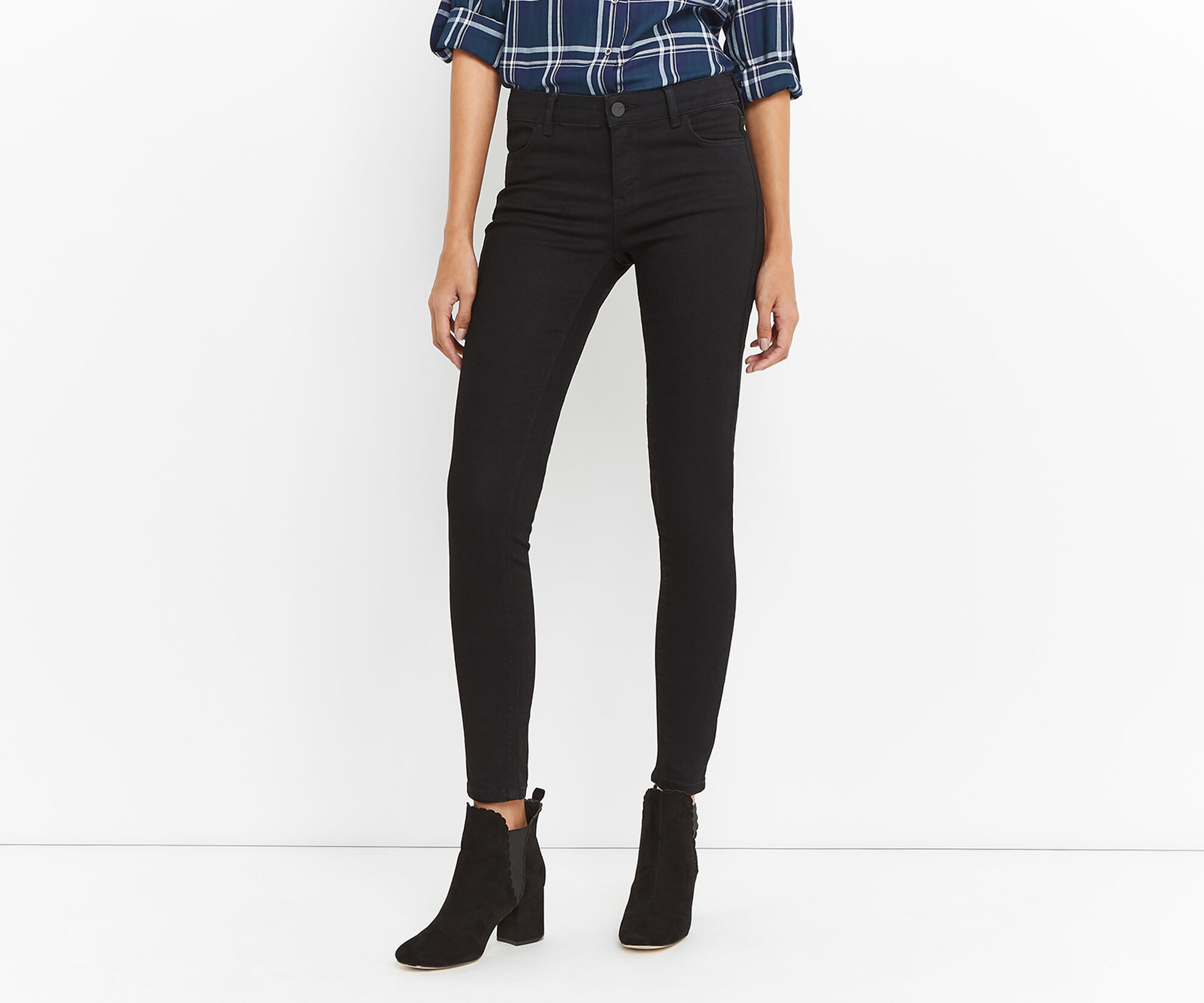 Oasis, Classic Skinny Jeans Black 1