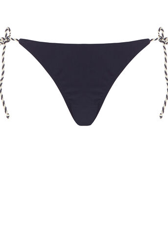 Oasis, Plait trim bikini bottoms Navy 0