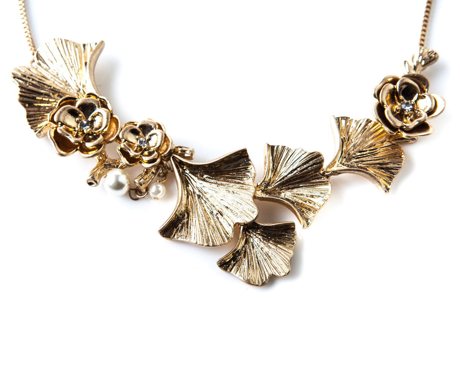 Oasis, GINGKO NECKLACE Gold 1
