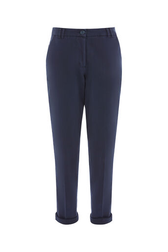 Oasis, LONGER LENGTH CHINO Navy 0