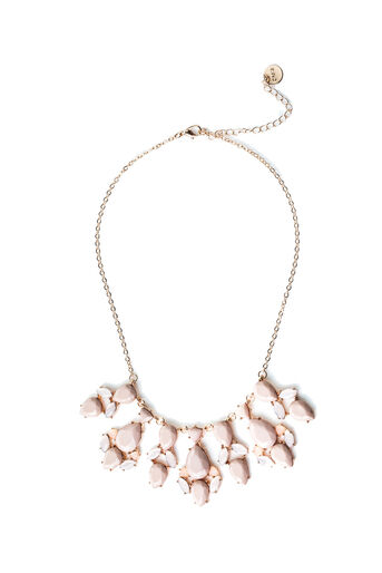 Oasis, PINK TEARDROP NECKLACE Natural 0