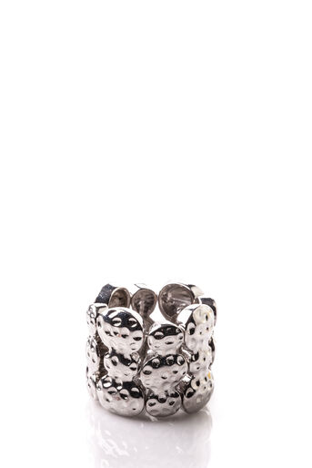 Oasis, STRETCH RING Silver 0