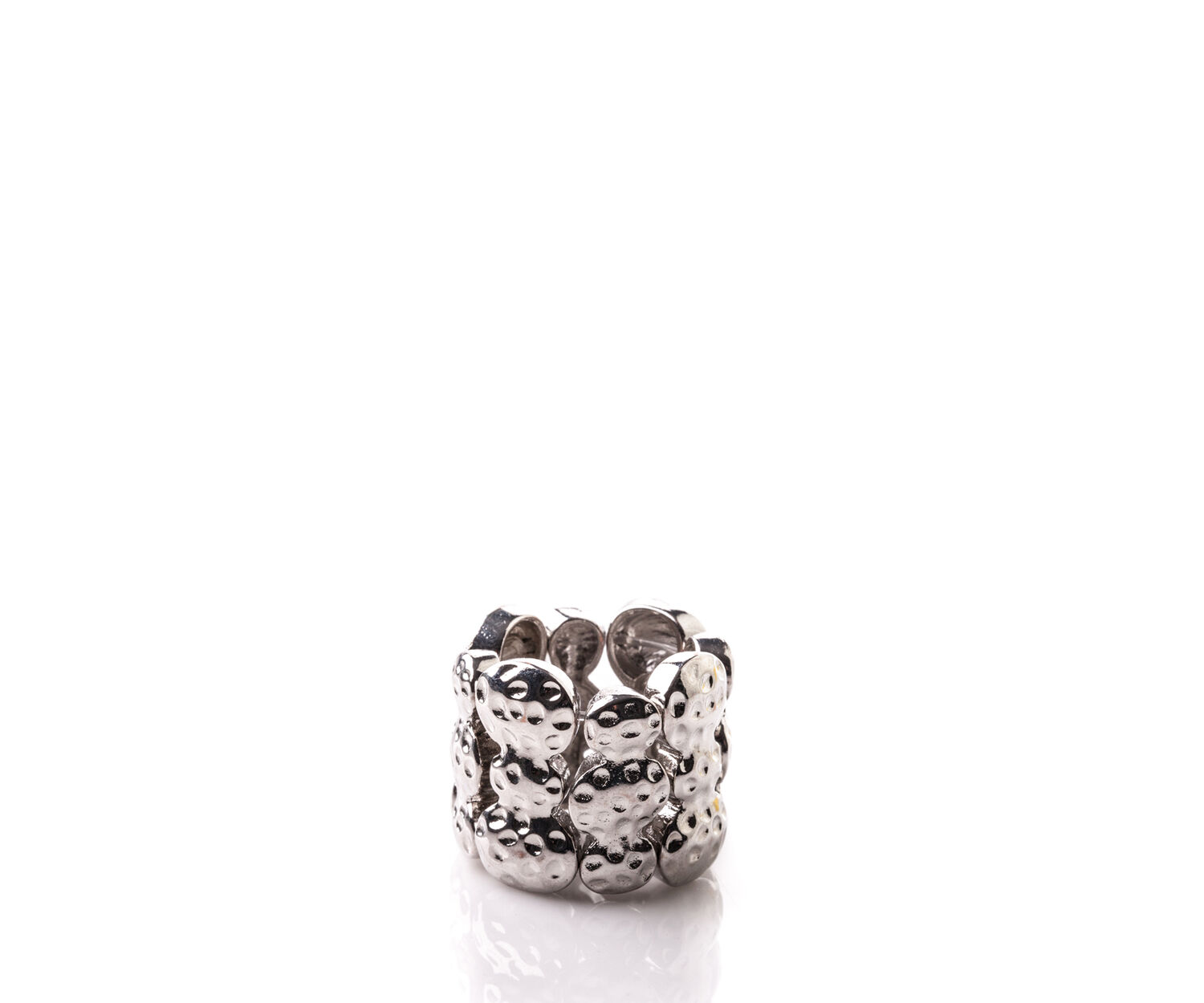 Oasis, STRETCH RING Silver 1