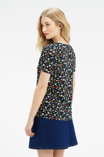 Oasis, Ditsy Print T-Shirt Multi 3