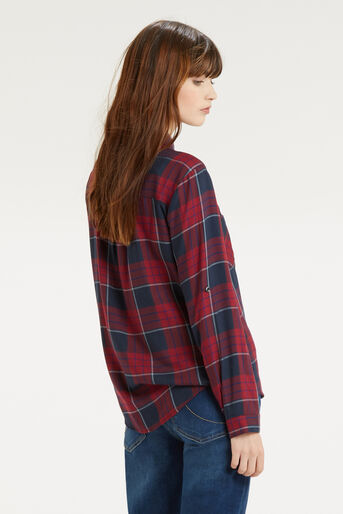 Oasis, Check Shirt Multi Red 3
