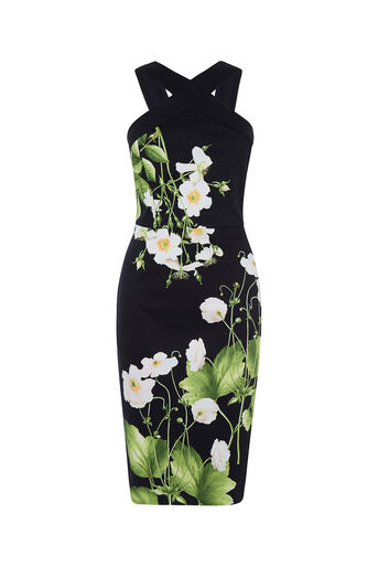 Oasis, CHELSEA FLORAL PENCIL DRESS Multi 0