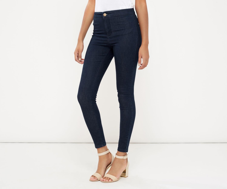 Oasis, Streamlined Skinny Jeans Dark Wash 1