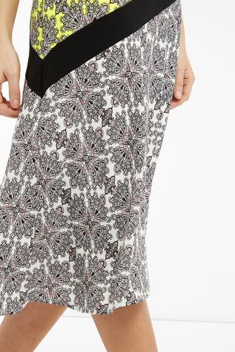 Oasis, Sintra Tile Midi Dress Multi 4