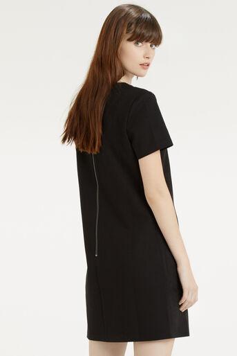 Oasis, Suedette Dress Black 3