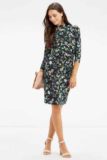 Oasis, V&A RUCHE DRESS Multi 2
