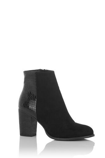 Oasis, MADDIE SNAKE PATCHED BOOT Black 0