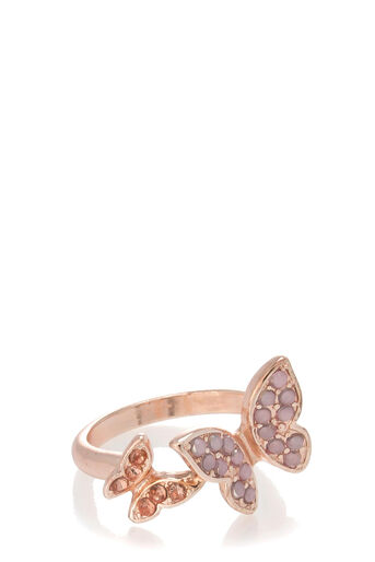 Oasis, BUTTERFLY RING M/L Gold 0