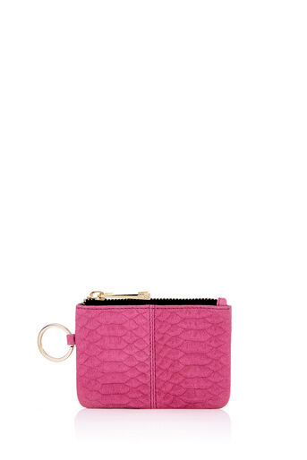 Oasis, LEATHER COIN PURSE Mid Pink 0