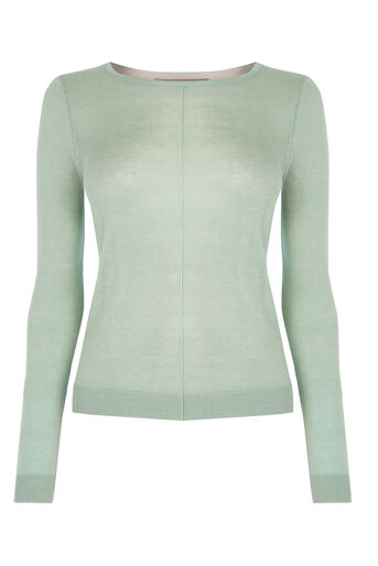Oasis, Sarah jumper Pale Green 0