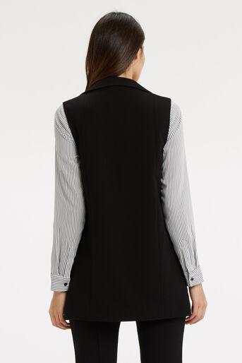 Oasis, Sleeveless Jacket Black 3