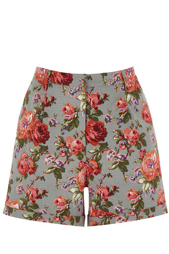 Oasis, ROSE PRINT SHORT Multi 0