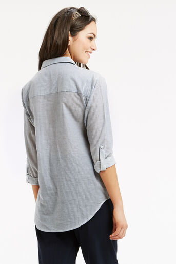 Oasis, Ticking Stripe Shirt Multi 3