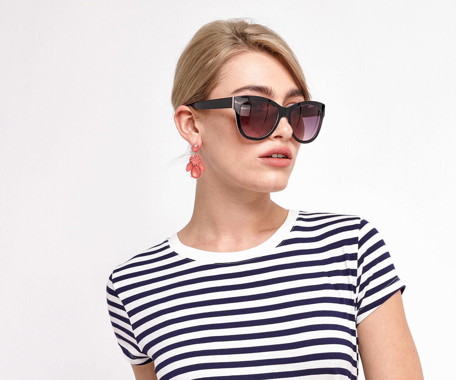 Oasis, LOUISE SUNGLASSES Multi Black 1