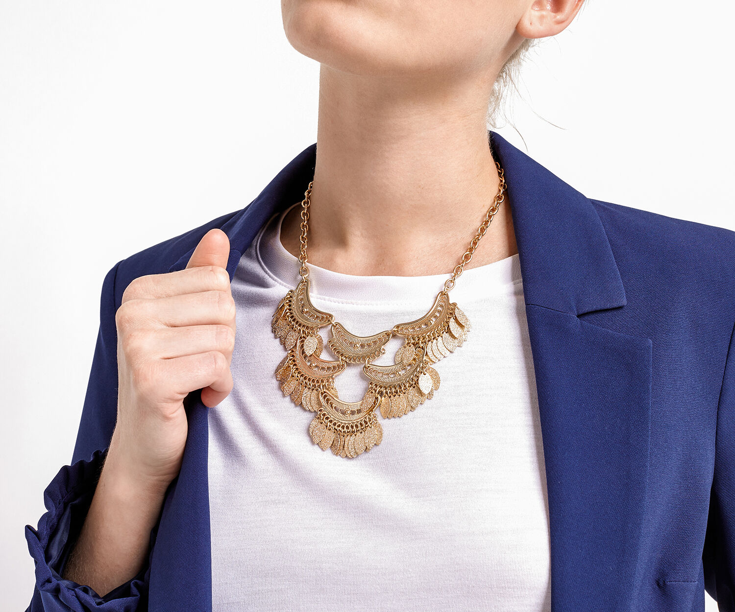 Oasis, STATEMENT COLLAR Gold 1