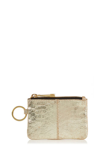 Oasis, LEATHER COIN PURSE Gold 0