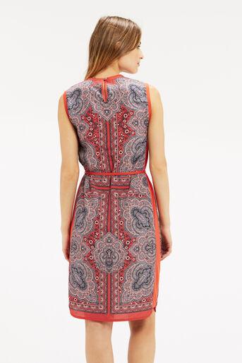 Oasis, PAISLEY PRINT DRESS Coral 3
