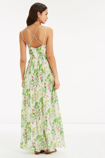 Oasis, CHELSEA FLORAL MAXI DRESS Multi Natural 3