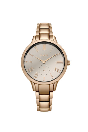 Oasis, ROSE GOLD BRACELET WATCH Rose Gold 0