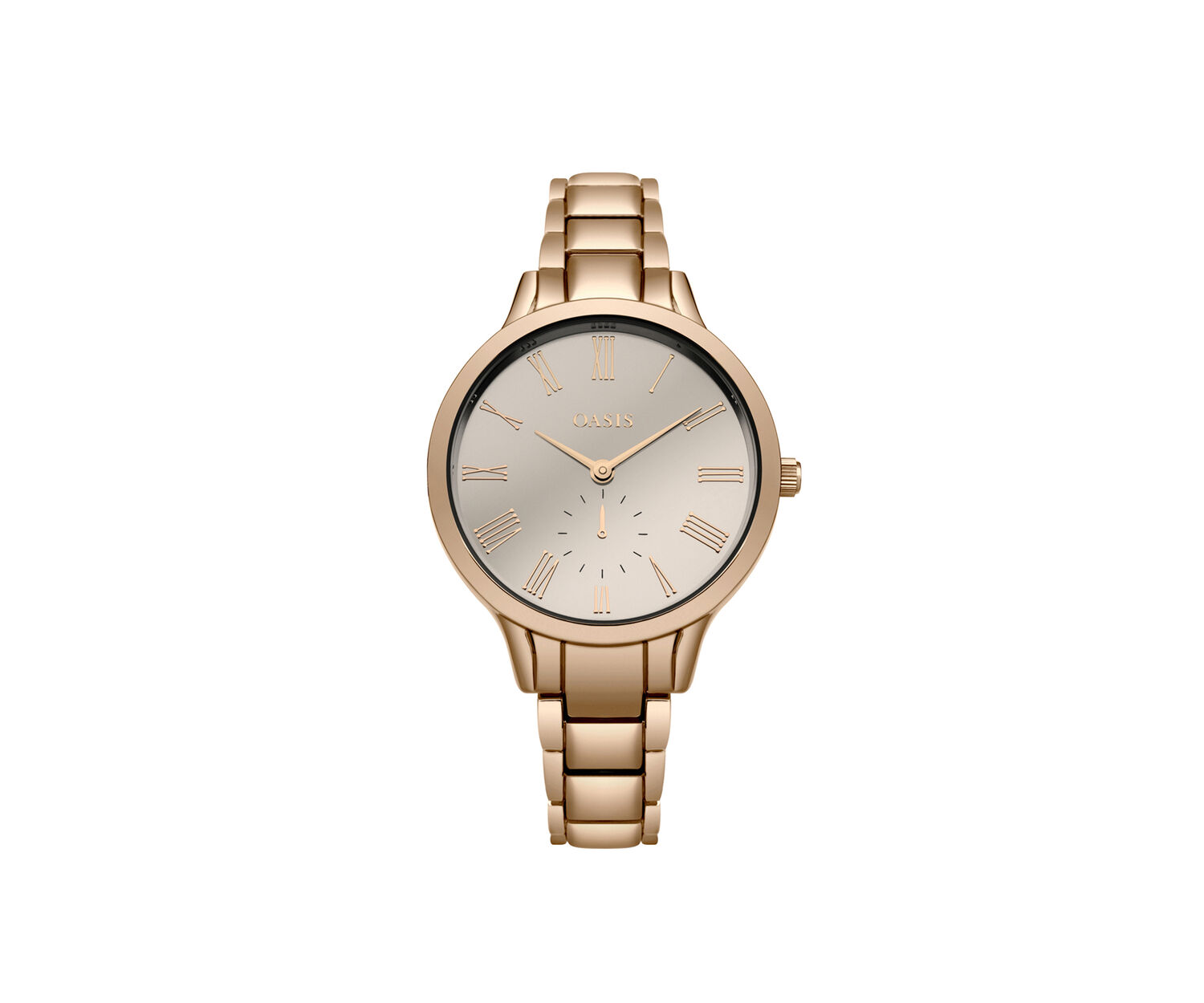 Oasis, ROSE GOLD BRACELET WATCH Rose Gold 1