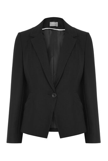 Oasis, HANNAH WORKWEAR JACKET Black 0