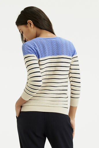 Oasis, Summer Pointelle Knit Off White 3
