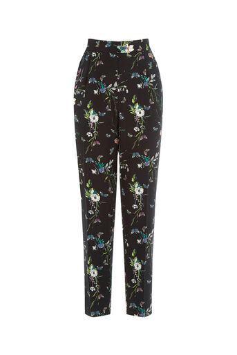 Oasis, FOREST PRINT TROUSER Multi 0