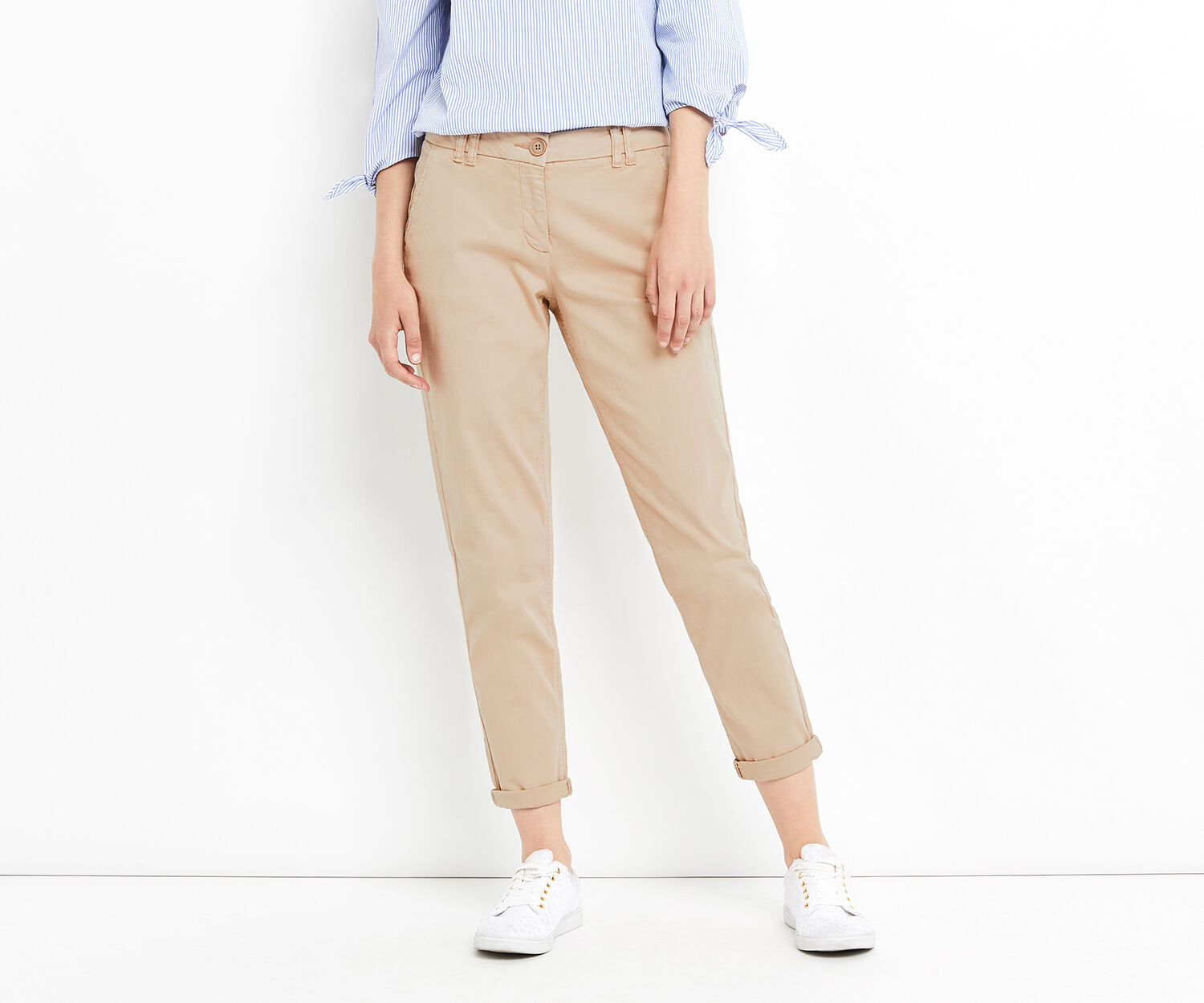 Oasis, CASUAL CHINO Mid Neutral 1