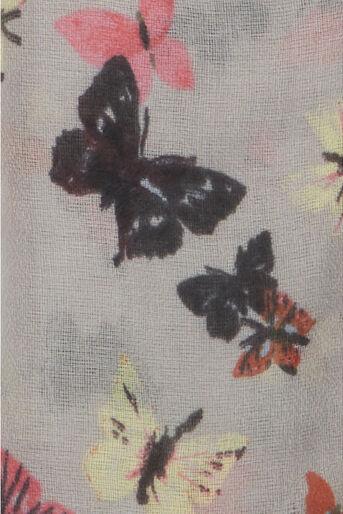 Oasis, Bryony Butterfly Scarf Multi 1