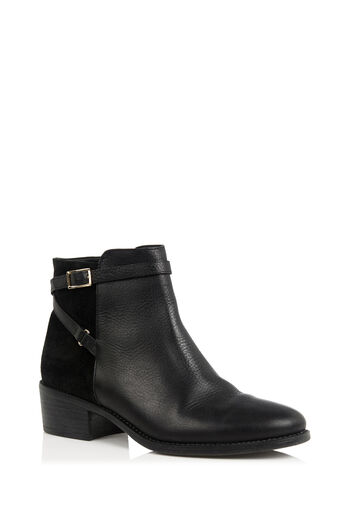Oasis, EMILY STRAP BOOT Black 0