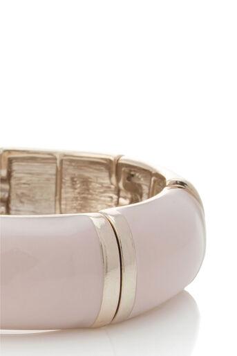 Oasis, Pastel Stretch Bracelet Cream 2